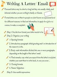 Short Personal Letter Example Reference Situational Writing Informal