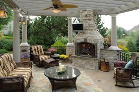 outdoor fireplace kits decor