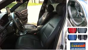 Select pickup truck model for two front L.Carbon Fiber car seat covers