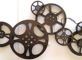 Small Picture HOME THEATER METAL WALL ART DECOR MOVIE FILM REEL EBay Movie Reel