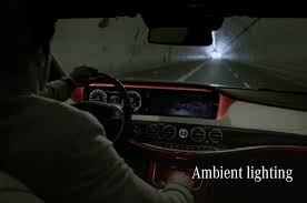 ambient interior lighting. Mercedes S Class Ambient Lighting Interior