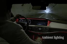 mercedes s class ambient lighting