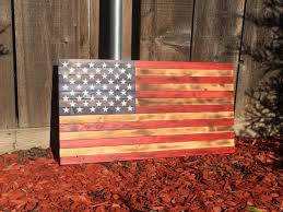 large wooden american flag wood american flag rustic american flag rustic wood flag