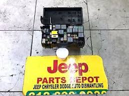 2009 jeep wrangler fuse box 3 8l jk power distribution box p image is loading 2009 jeep wrangler fuse box 3 8l jk