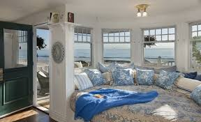 Inspirations On The Horizon Blue And White Beach House Interiors - White beach house interiors