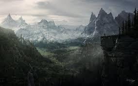 Captivating Skyrim Wallpapers
