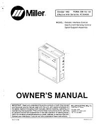 Circuit Diagram Miller Welding Manualzz Com