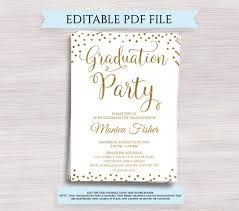 celebration invite editable graduation party invitation gold graduation invitation graduation celebration invite grad party invite template class of 2019