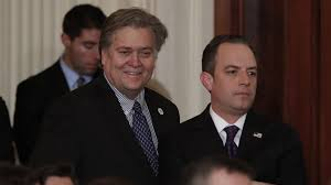 recapturing oval office. Steve Bannon, Chief White House Strategist To President Donald Trump, Left,  And Recapturing Oval Office