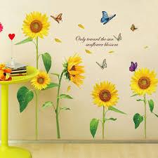 elegant sunflower wall art about my blog