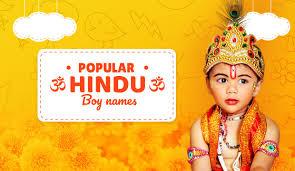 por hindu boy baby names