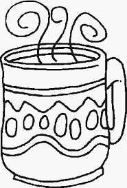 Small Picture COFFEE Free Printable Winter Coloring Pages