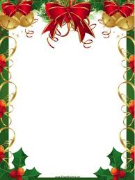 christmas menu borders downloadable border for christmas fun for christmas