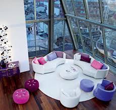 Futuristic Living Room Living Room Colorful Interior Furniture Futuristic Idolza