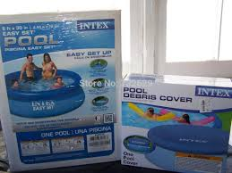 intex easy set pool. 2018 New 8\u0027 X 30 Intex Easy Set Round Above Ground Pool Inflatable 56970e + Cover From Moonk, $370.35 | Dhgate.Com