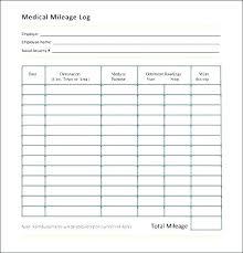 Free Excel Mileage Log Vehicle Mileage Log Templates Printable Free Template Lab