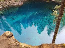 tamolitch blue pool. No Filter! Saturation Boost!!! About 30 Feet Deep And Crystal Clear Tamolitch Blue Pool