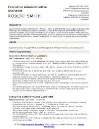 Executive Administrative Assistant Resume Samples Qwikresume