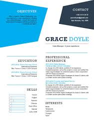 Simple Cv Template Uncanny Resume Mycvfactory