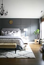 Gaining A Few Extra Inches Thrifty Decor Chick And Thrifty Decor - Grey wall bedroom ideas