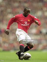 Dwight Yorke of Manchester United in ...