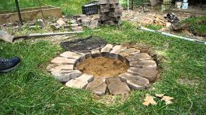 Building a Cheap Firepit - YouTube