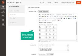 Custom Size Chart How To Customize Size Charts In Magento 2 Mageplaza