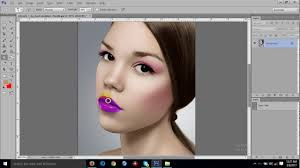 digital makeup in photo cs6