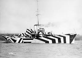 When the British Wanted to Camouflage Their Warships, They Made ...