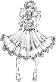 Small Picture Barbie A Fashion Fairytale images Coloring Page HD wallpaper