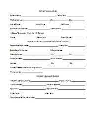 patient information form troy racki dds patient forms