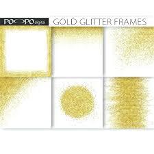 gold frame border png. Gold Frame Border Frames Borders Clip Art Digital Paper Template Overlay Invitation Background Confetti Design Png