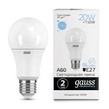 <b>LED лампа Gauss 23239</b>. Купить в наличии | Chiaro.ru