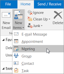 microsoft office schedule maker schedule a meeting with other people outlook
