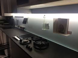 led kitchen cabinet lighting. glass painted kitchen backsplash with led under cabinet lighting