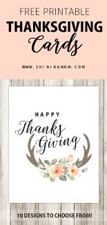 Printable Thanksgiving Cards 10 Free Printable Thanksgiving Cards Warm And Beautiful