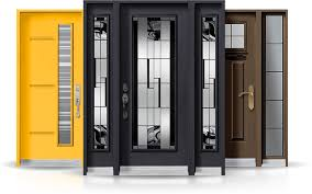 a variety of front doors we install steel entry doors