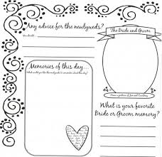 guest book template free leaving their mark