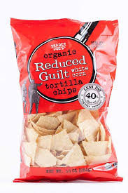 trader joe s organic reduced guilt white corn tortilla chips