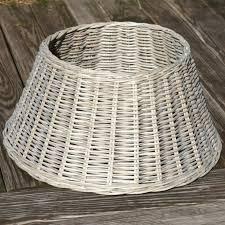 Willow Christmas Tree Skirt Basket