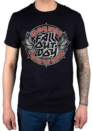 Fall Out Boy Merch Size Chart Amazon Com Official Fall Out Boy Heavy Metal T Shirt Clothing