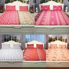 100 cotton bed sheets. Modren Sheets Pack Of 5 100 Cotton Double Bedsheet Sets By Bella Casa  Bed Sheets   ShopCJ Intended 100 Y