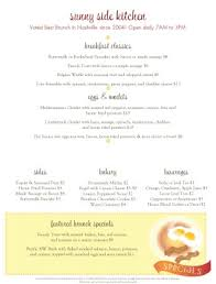 breakfast menu template breakfast menu template breakfast menus