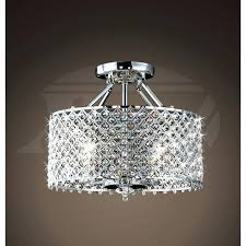 flush mount crystal chandelier excellent and light with candice 4 antique black semi