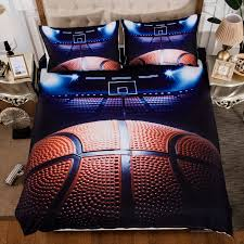 charming ideas basketball bedding sets 3pcs queen size soccer duvet cover king twin pillowcase united states kingdom in from home