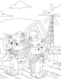 Small Picture Coloring Pages Farmer Coloring Page Handipoints Farm Coloring