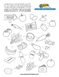 Small Picture Coloring Pages About Healthy Habits Coloring Pages