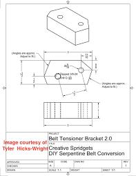 Serpentine Belt Conversion Creative Spridgets
