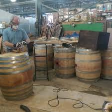 barrel size wine barrel planter sales 24 photos 26 reviews outdoor