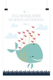 Kinder Poster Wal 50x70 Prayer Journal Bibelverse Taufe